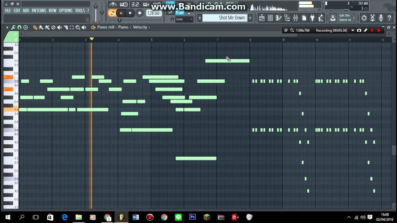 BEST OF Calvin Harris and David Guetta Melody in FL Studio (FREE FLP)