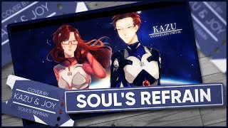 Neon Genesis Evangelion 「Soul's Refrain」 - Cover by Kazu & Joy [Japanese Version] +12k. Subs!