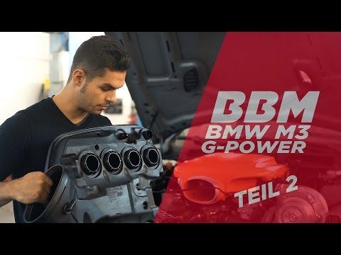 Es geht weiter! | BMW M3 G-Power Kompressor Umbau Teil 2 by BBM