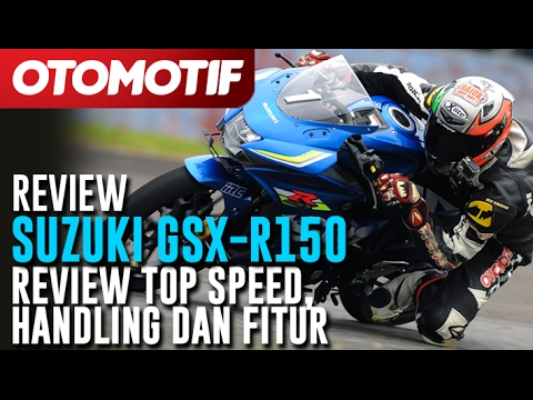 Suzuki GSX-R150. Review Top Speed, Handling dan Fitur