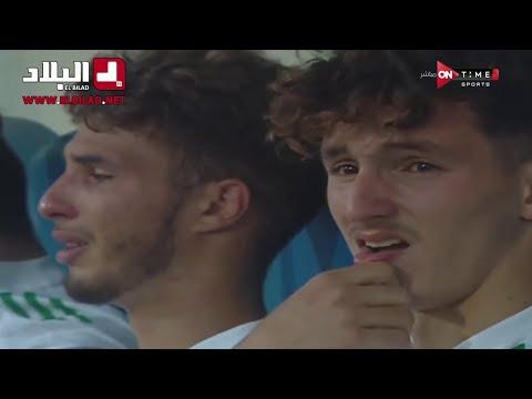 شاهدوا .. بكاء لاعبي المنتخب الوطني بعد خسارة النهائي ضد السعودية