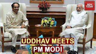 CM Uddhav Thackeray Meets PM Narendra Modi In Delhi