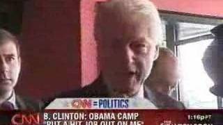 Bill Clinton Gets Angry At Reporter (Again)