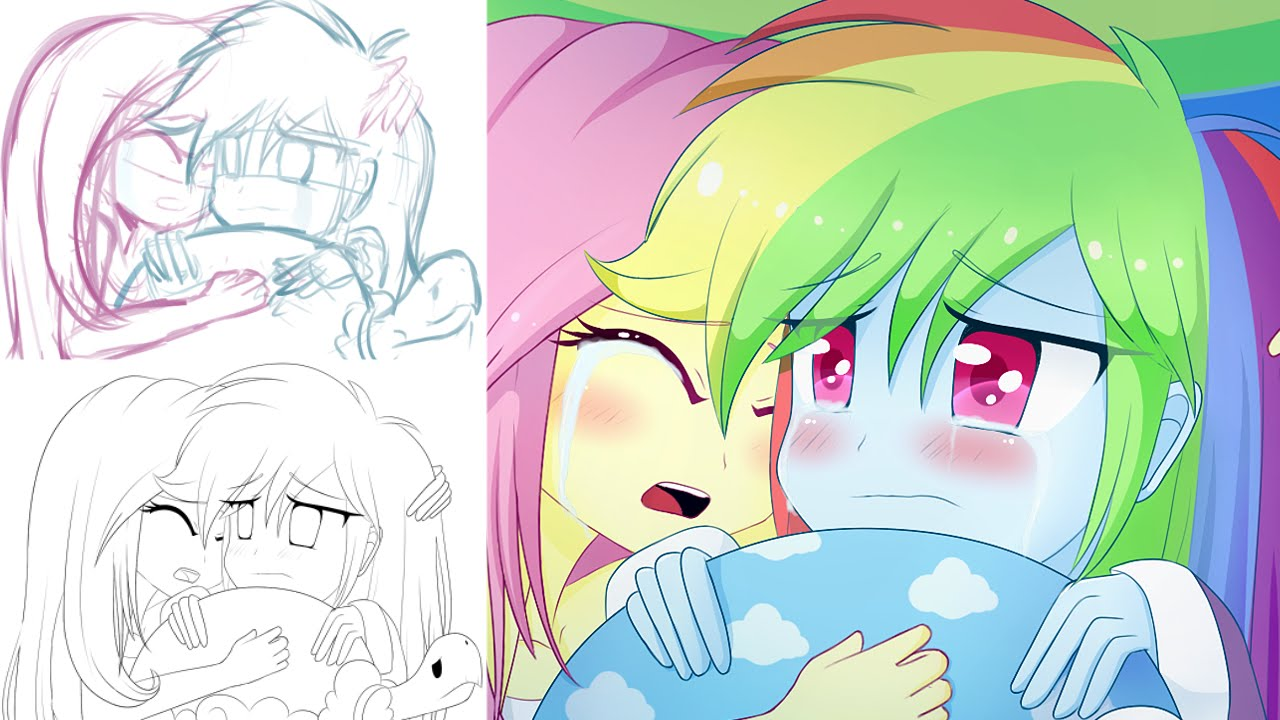 Speed paint tanks for the memories equestria girls version youtube - My little pony en humain ...
