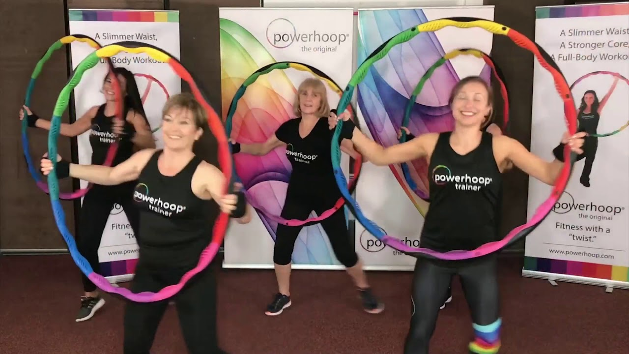 powerhoop weighted fitness hula hoop instructor trainingPowerhoop #21