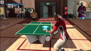 Sports Champions Table Tennis Serving and Backhand Tips Tricks PS3 Move
