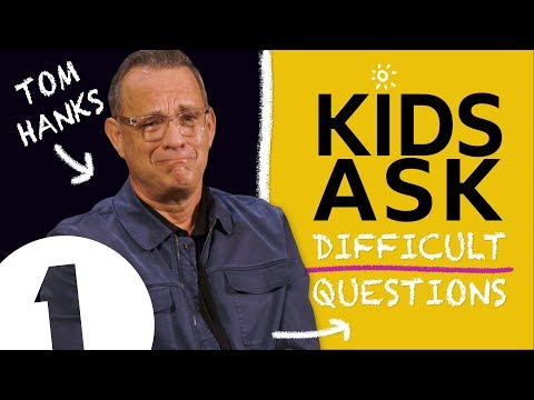 I do hate SOME kids?!: Kids Ask Tom Hanks Difficult Questions