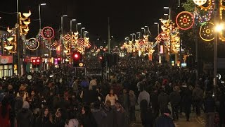 Golden Mile dazzles in lights as the city prepares for Diwali