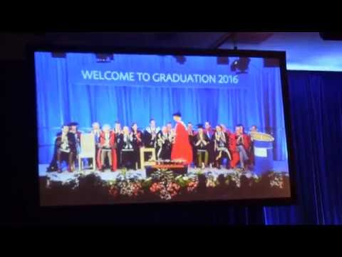 Dr Brady Haran's speech to the Graduands