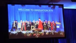 dr brady haran s speech to the graduands