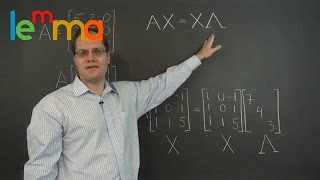 Linear Algebra 18a: Introduction to the Eigenvalue Decomposition