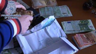 Policía desmantela organización que planeaba aplicar ERTES en 50 empresas ficticias