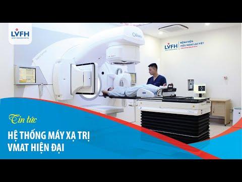 Hệ thống máy xạ trị gia tốc VMAT của Bệnh viện Hữu Nghị Lạc Việt hiện đại tương tự Bệnh viện K, 108.