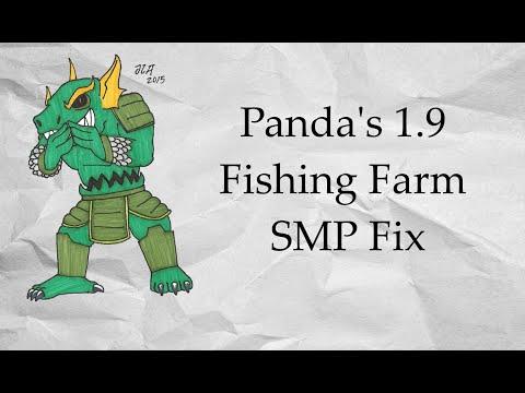 Panda's 1.9 Automatic AFK Fish Farm SMP Fix