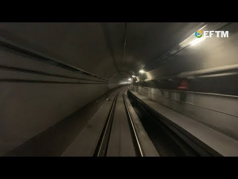 A Two-minute Flying Run On The North West Sydney Metro