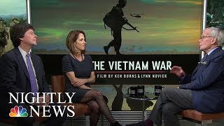 'Vietnam War' Filmmakers Speak to Tom Brokaw   NBC Nightly News