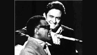 Ray Charles & Johnny Cash Why Me Lord