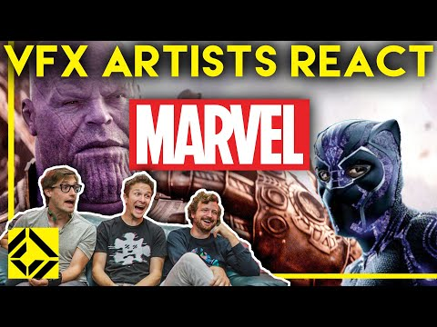 VFX Artists React To MARVEL Bad & Great CGi