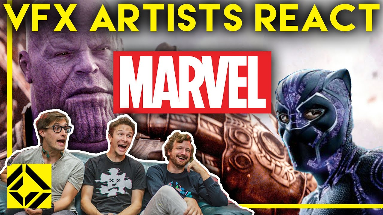 VFX Artists React to MARVEL Bad & Great CGi