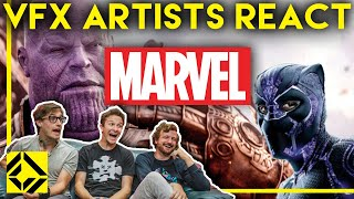 [15.16 MB] VFX Artists React to MARVEL Bad & Great CGi