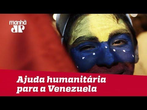 EUA enviam aviões militares com ajuda humanitária para a Venezuela(Vídeo)