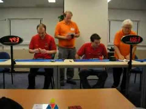 David calvo record de espa a rubik segundos youtube for Rubik espana