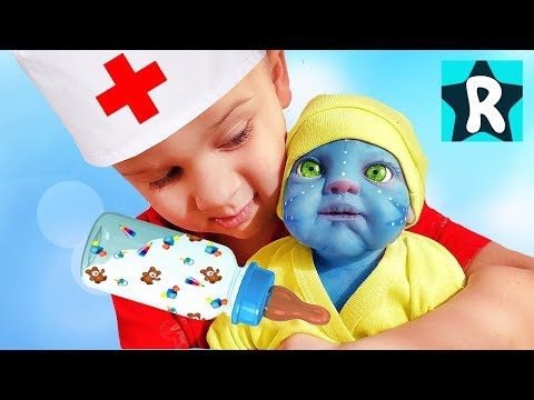 Roma Pretend Play with Baby Doll Kids Toys