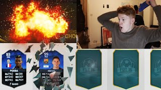 fifa 16 toty 5 minute fut draft we get a toty attacker omg speed squad builder