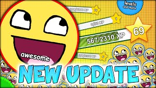 THE NEW AGARIO UPDATE - HOW TO LEVEL UP LIKE A BOSS IN AGARIO (MOST ADDICTIVE GAME - AGAR.IO #30)