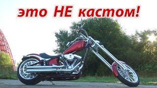 Харлеистей харлея! Big Dog K9 - американский чоппер #МОТОЗОНА №80