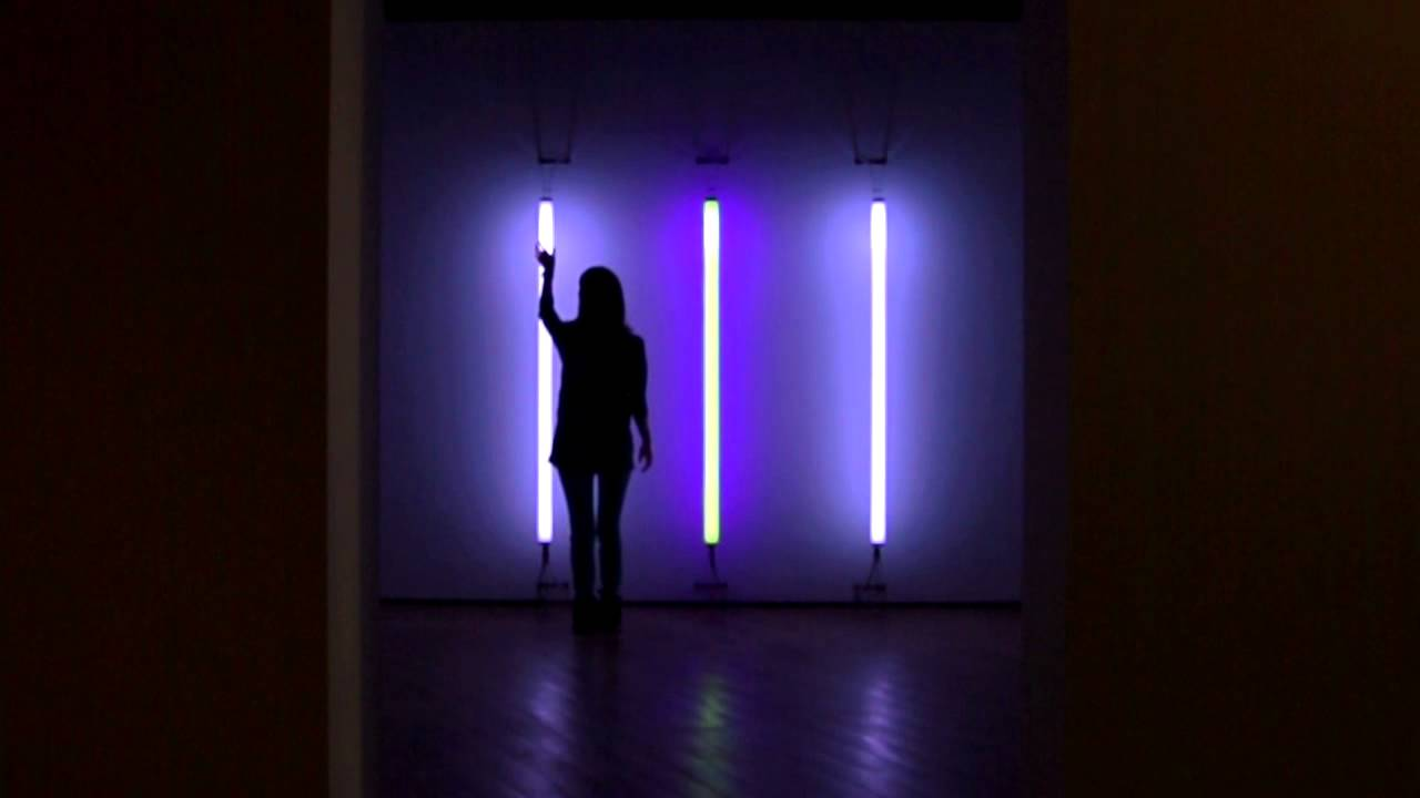 Light Tree Interactive Dan Flavin By Hybe 2011 Youtube