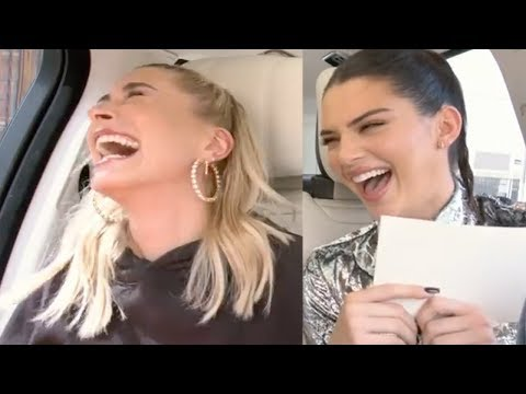 Hailey Baldwin & Kendall Jenner Take Lie Detector Test! Justin's Thoughts on Kendall Revealed!