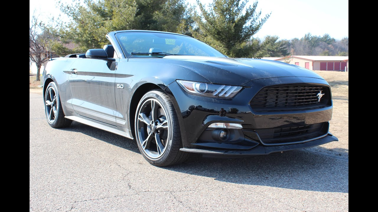 2016 Ford Mustang Gt Premium California Special Convertible At Eau 2015 Claire Lincoln Quick Lane