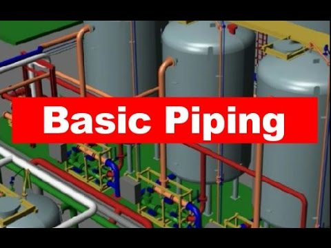 Piping basics for Engineers | Designers | Draughtsmen | Piping Analysis