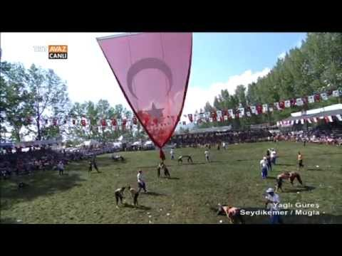 Yağlı Güreş Seydikemer / Muğla - 1. Kısım - TRT Avaz