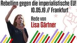 Frankfurt, 10.05.2019: Rede von Lisa Gärtner   Internationalistische Liste/MLPD