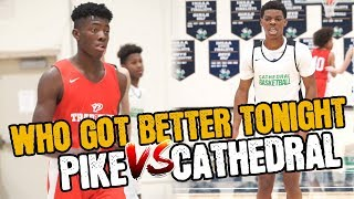Cathedral's Tayshawn Comer vs  Pike's Davion Bailey Gearing UP for BIG SEASONS