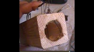 самодельная и безотказная мышеловка своими руками из бруска нитки и пружины из старого дивана