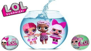 Как меняют цвет Куклы ЛОЛ 1, 2 и Глиттерной серий| LOL SURPRISE Color Change Series 1, 2