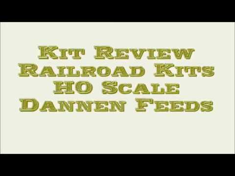 Review of Railroad Kits Easy to Build Structure
