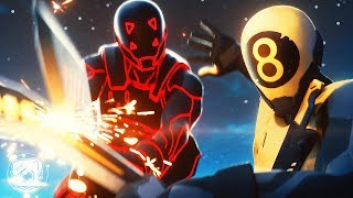 GOLD 8-BALL vs. CORRUPTED SCRATCH: THE REMATCH (A Fortnite Short Film)