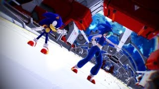 MMD: Hatsune Miku (初音ミク) & Sonic The Hedgehog ~ Galaxias ~