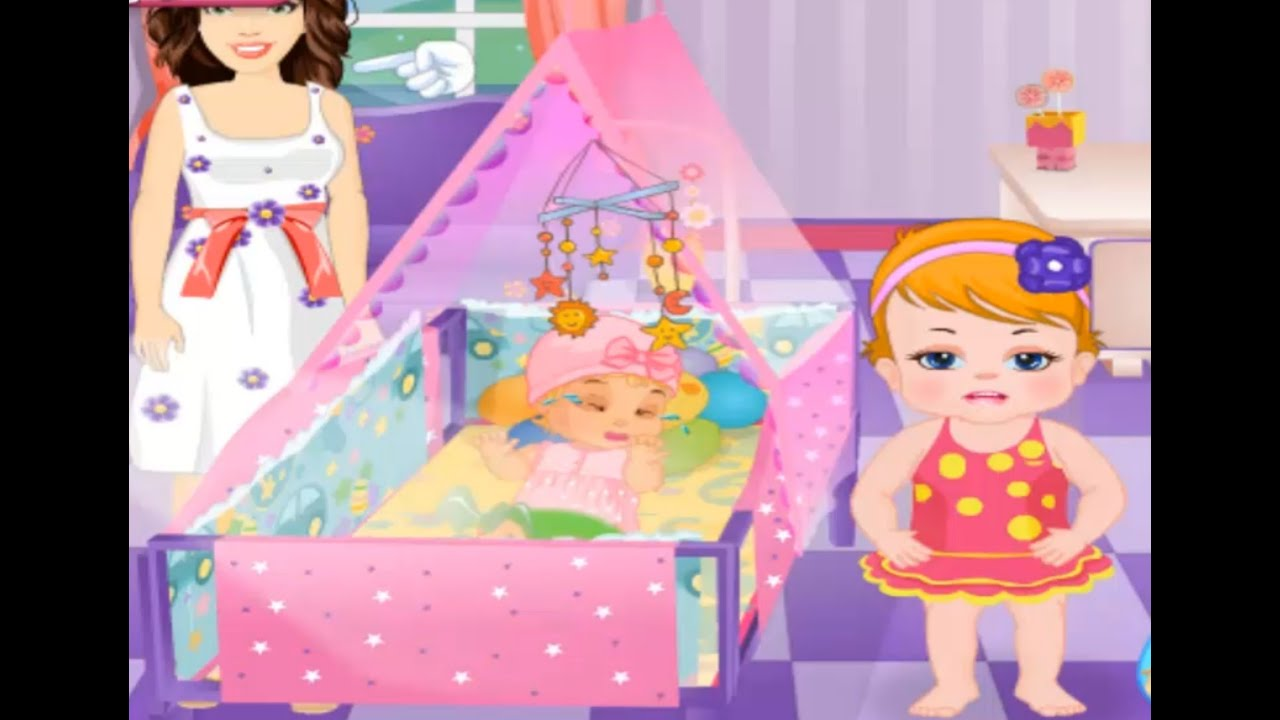 Sofia And Newborn Baby Sister Game For Babies And Kids