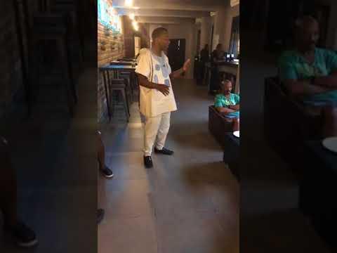 Omoyele Sowore Town Hall Meeting in Lekki Phase 1,Lagos Nigeria.
