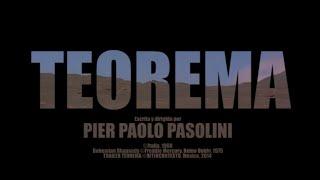Trailer TEOREMA. Pasolini
