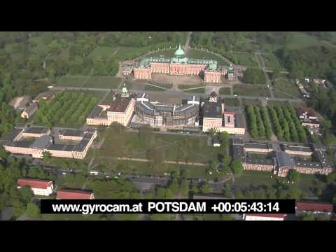 POTSDAM - Germany - aerial footage