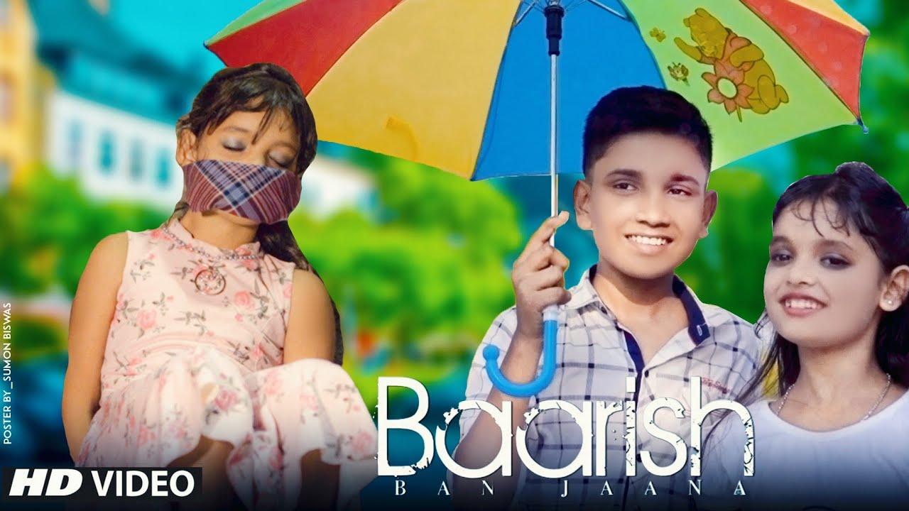 Baarish Ban Jaana | Jab Mai Badal Ban Jau | Cute Romantic Love Story | Stebin Ben | CuteHub