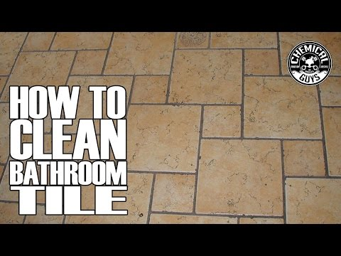 how-to-clean-bathroom-tile-grout---chemical-guys-drill-brush