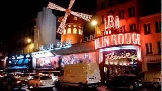 Paris - Moulin Rouge(Мулен Руж (Красная мельница) — знаменитое классическое кабаре в Париже. Moulin Rouge (Červený mlýn) je světoznámý francouzský..., 2011-12-25T15:48:32.000Z)