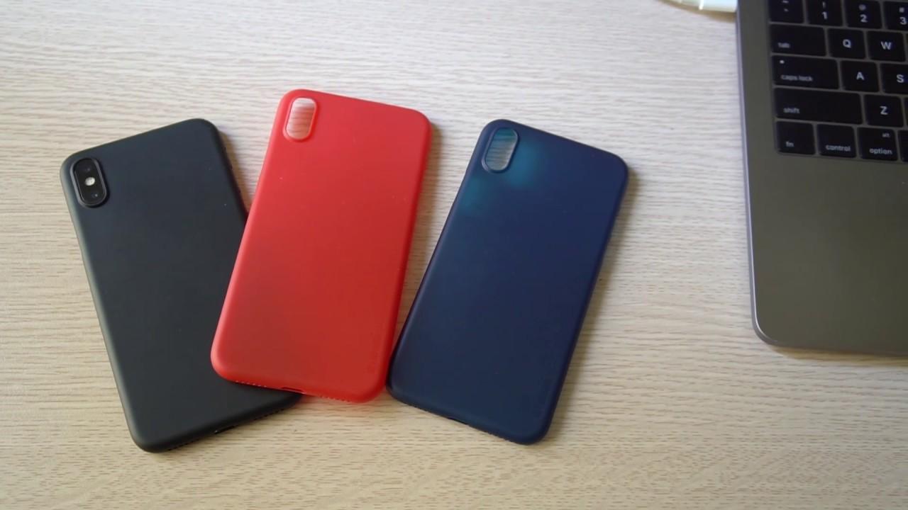 Ốp lưng siêu mỏng Memumi iPhone X / XS / XS Max chỉ với 0.3mm